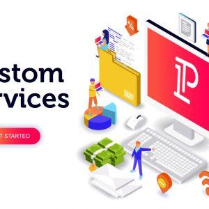 Custom Services Banner