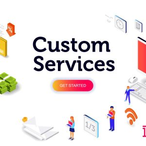 second Custom Services banner