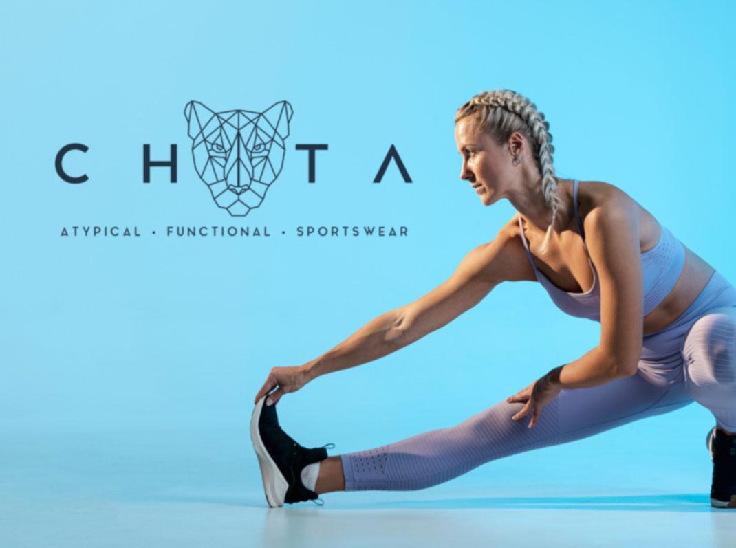 Line design Chita Logo sport wear