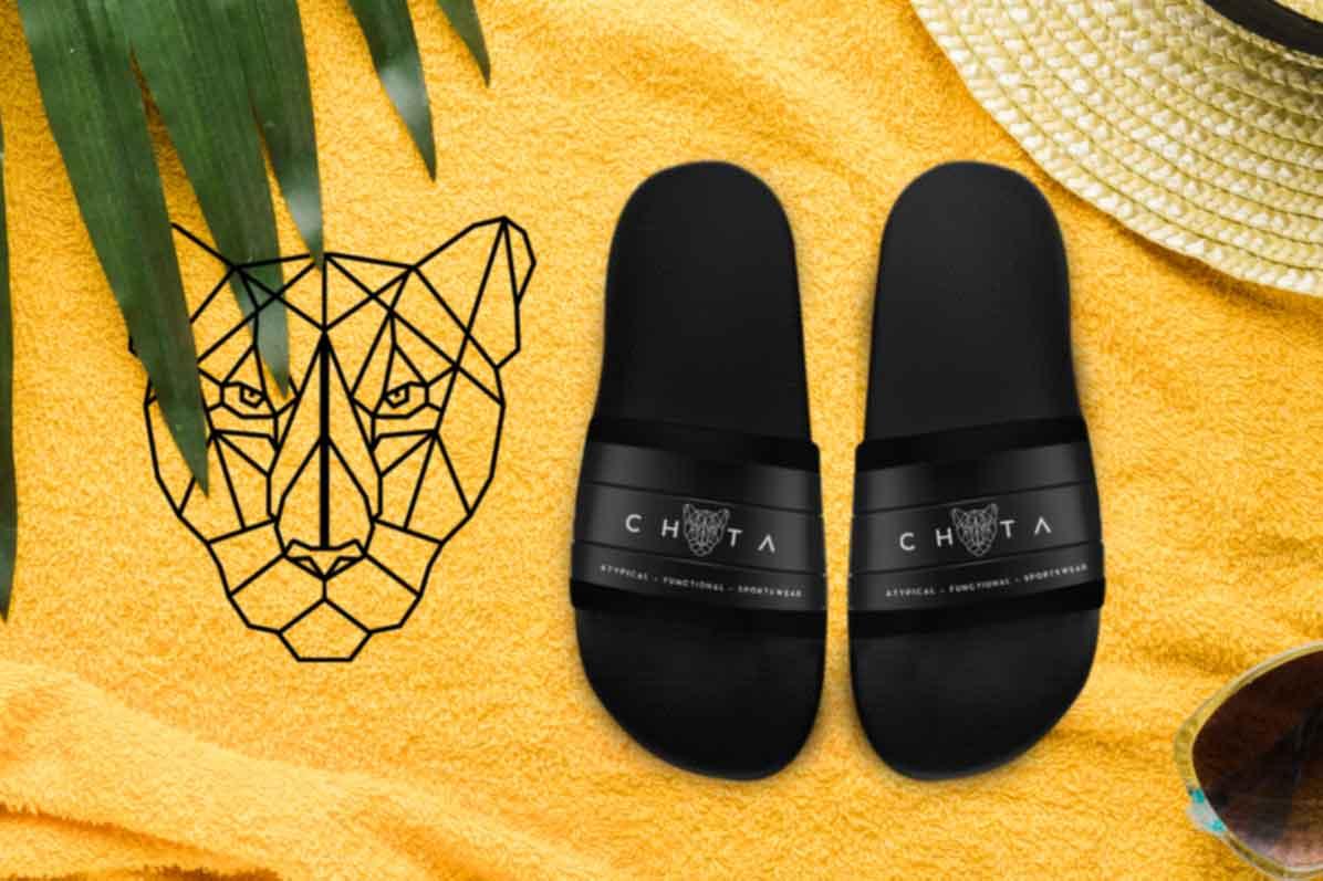 Chita Line Art Logo mockup image