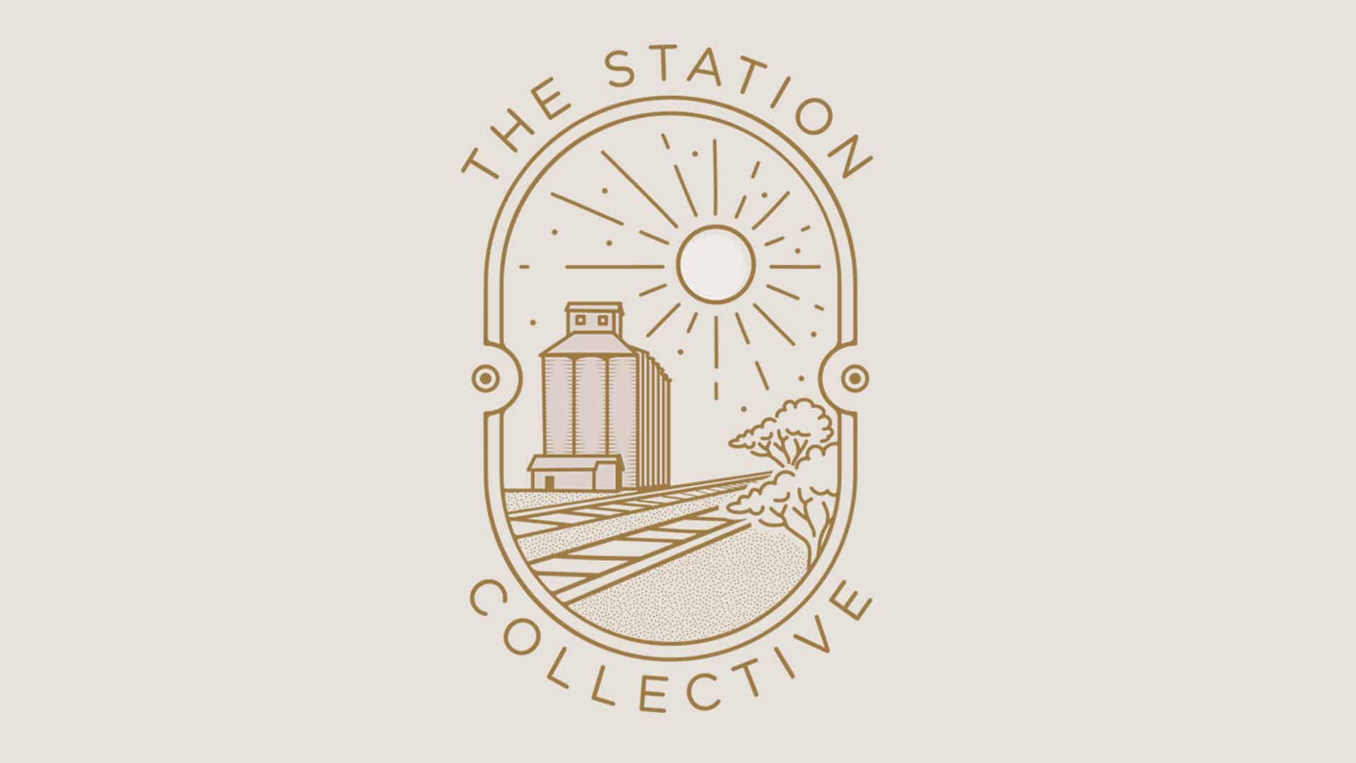 the station logo design