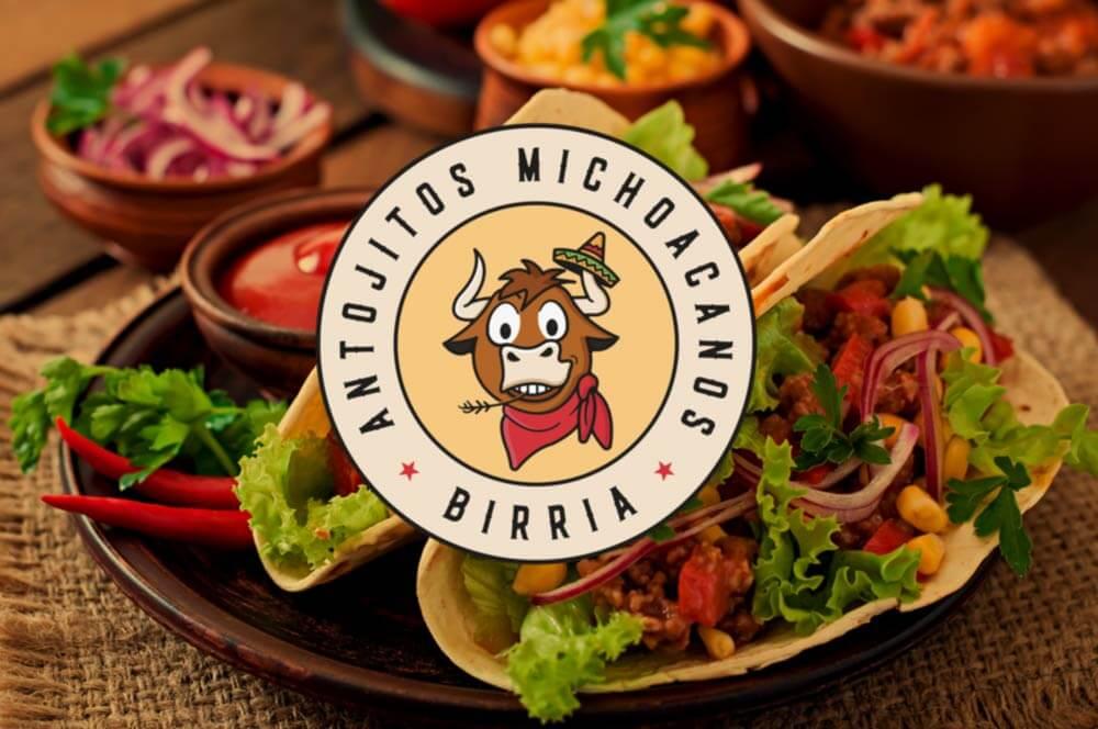 Taco Logo Mockup Bull Logo Design
