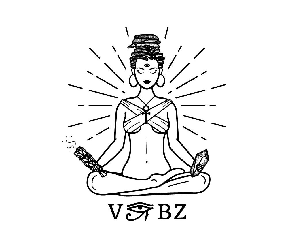 Professional Tarot Logo Female Character