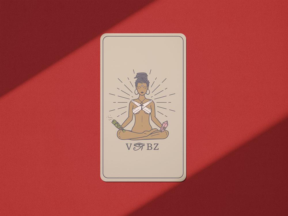 Mockup For Tarot Cards